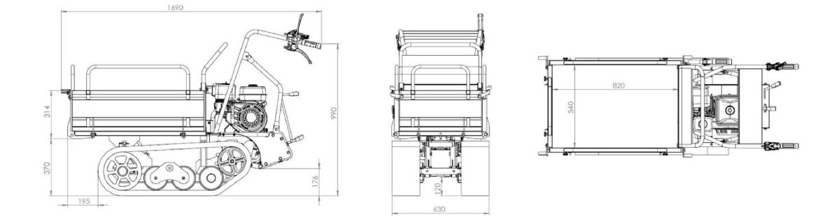 M350-dimensions